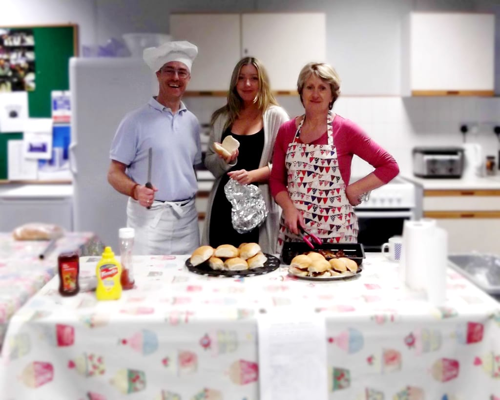 Chefs in the kitchen for children in need
