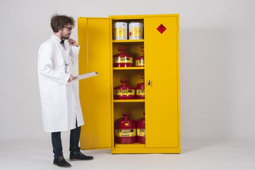 Best COSHH Cabinets for Hazardous Materials