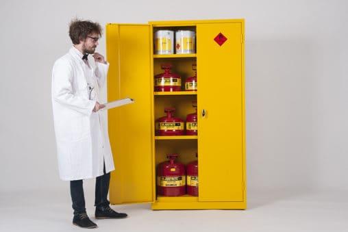 Best COSHH Cabinets for Hazardous Materials