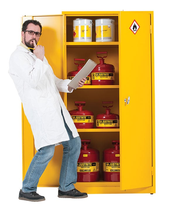 How to store hazardous substances