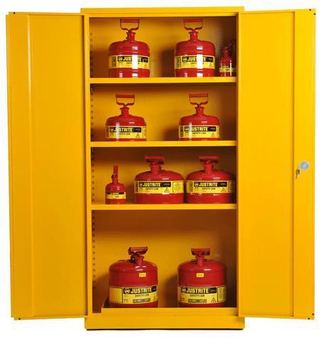 Yellow COSHH Cabinet