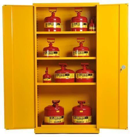 Yellow COSHH Cabinet
