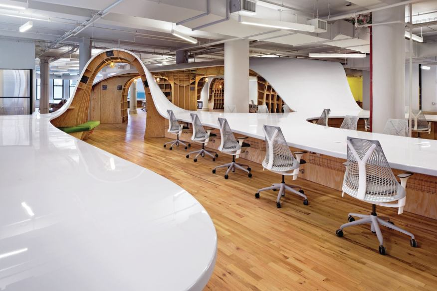 The Superdesk at Barbarian Group, New York City