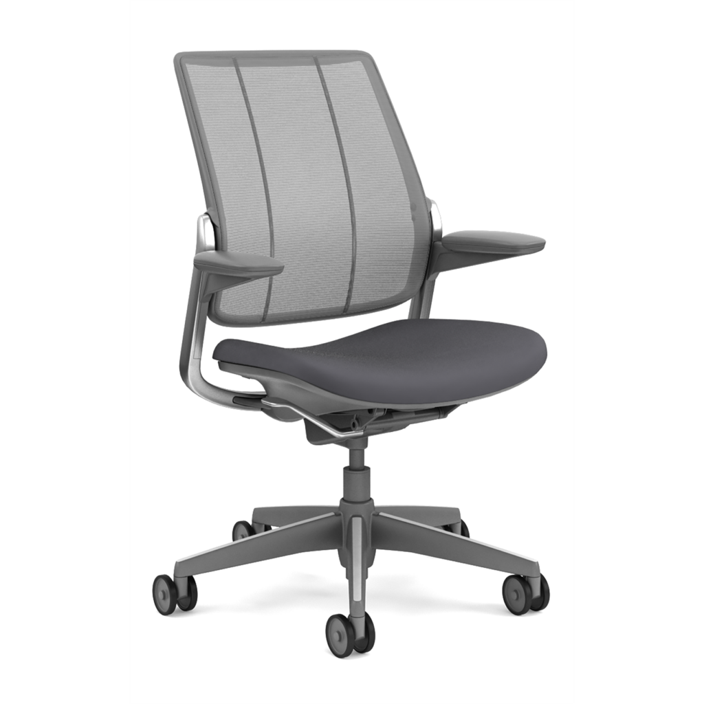 Humanscale Diffrient Smart Chair with Grey Seat