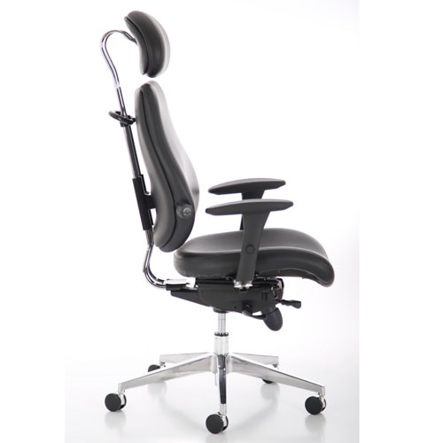 Chiro Ultimate Ergonomic Leather Posture Chair