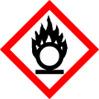 Oxidising Substances COSHH Symbol