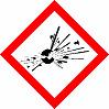 COSHH Explosive Materials Symbol