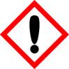 Irritant COSHH Symbol