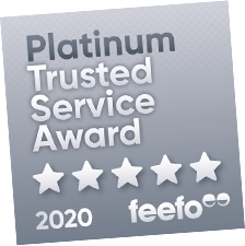 Feefo customer rating
