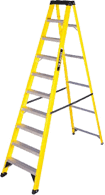 Ladder, steps and towers