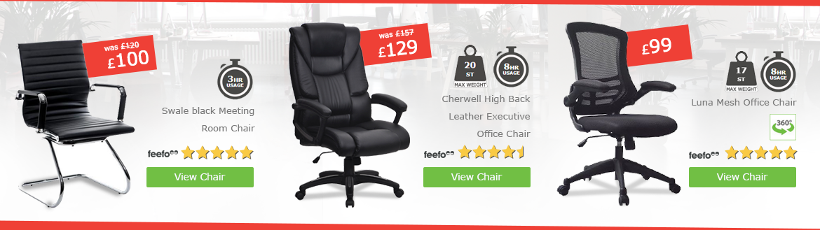 Chairs product offer slide