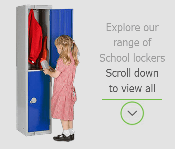 school lockers mobile banner