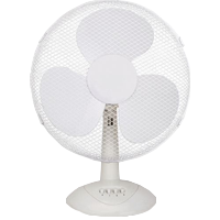 chrome desk fan
