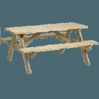 classic picnic bench