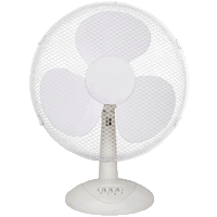 plastic desk fan