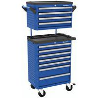 7-drawer trolley with 4-drawer top box