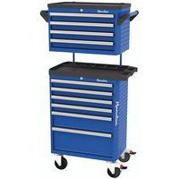 6-drawer trolley with 4-drawer top box