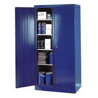 Blue large volume cupboard