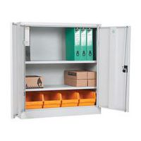 From The Side Economy Metal Office Cabinets - 1000mm Height