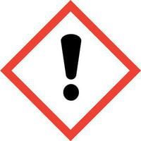 Harmful/Irritant label is supplied on all Coshh cabinets