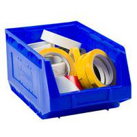 Manutan blue picking storage bin 10L.