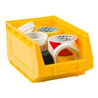 Manutan yellow picking storage bin 10L.
