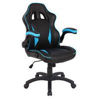 Blue Predator Racing Style Office Chair