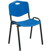 Blue Stacking Conference Chair