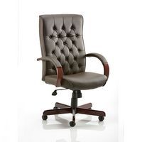 Chesterfield Executive Chair Brown