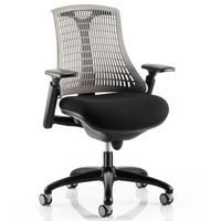 Orion Mesh Back Office Grey with Black Frame