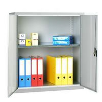 Grey 1 shelf security cupboard