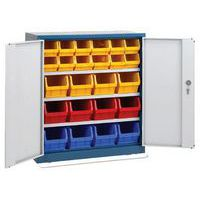 Cupboard with 24 Bins