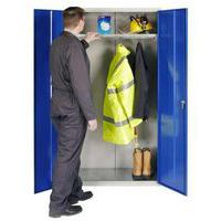 Open Door PPE Cupboard - Wardrobe Cabinet