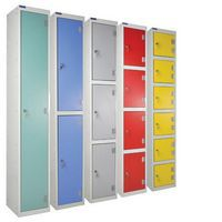 Group of laminate lockers