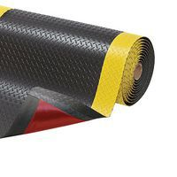 Rolled Up Heavy Duty Anti-Fatigue Diamond Pattern Mats