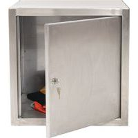 Stainless Steel Cube Locker 305x305x305mm