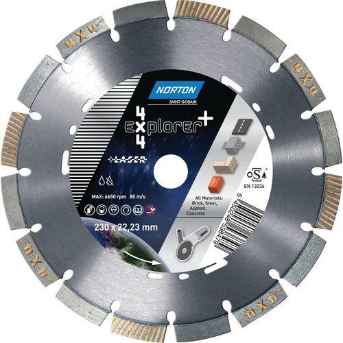 Explorer 4 x 4 diamond cut-off disc