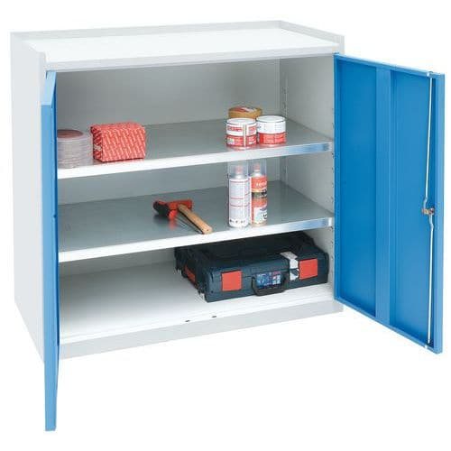 Heavy Duty Tool Cupboard - HxWxD 915x1000x500mm