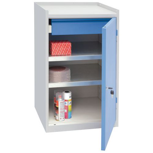 Tool Cupboard with Single Drawer & Shelf HxWxD 915x533x500mm