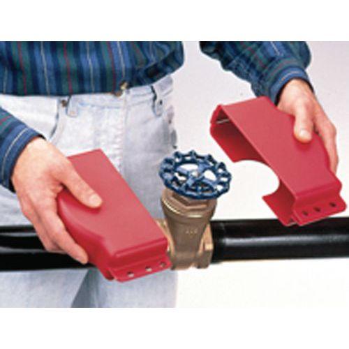 Locking of handwheel valves