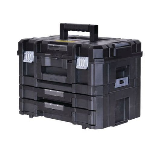 Pro-Stack case + two-drawer case