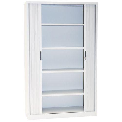 Tambour Door Cupboards - HxWxD 1950x1200x450mm