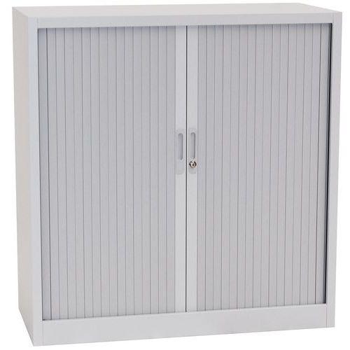 Tambour Door Cupboards - HxWxD 1050x1000x450mm