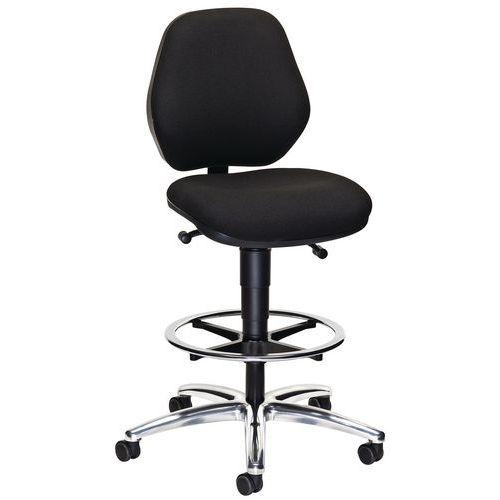 Ergonomic mobile high chair