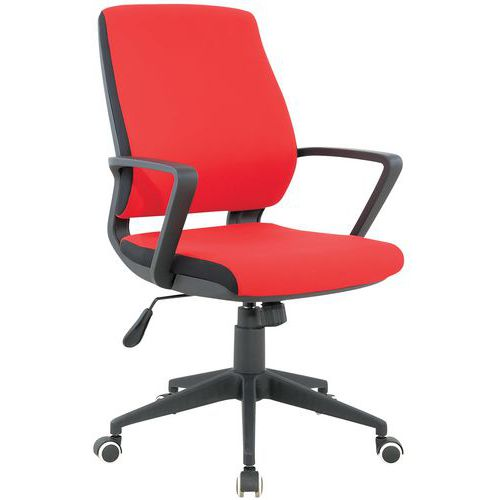 Harrier Fabric Office Chair with Square Back