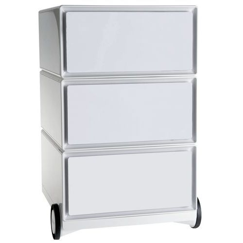 Easybox mobile filing cabinet with 3drawers - Paperflow