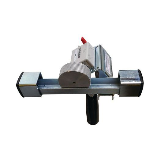 Manual cable measuring device