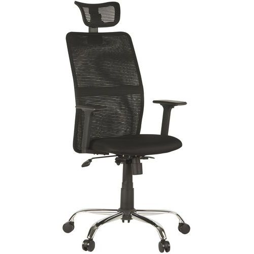 Nebular High Back Mesh Office Chair with Headrest