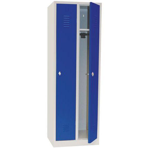 Storage Locker With Plinth and Cylinder Lock 300mm Wide