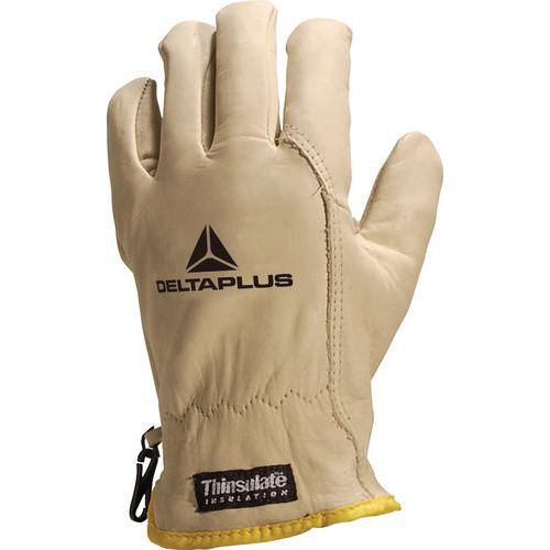 FBF50 cowhide grain leather cold-resistant gloves